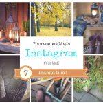 7 ihanaa Instagram tiliä