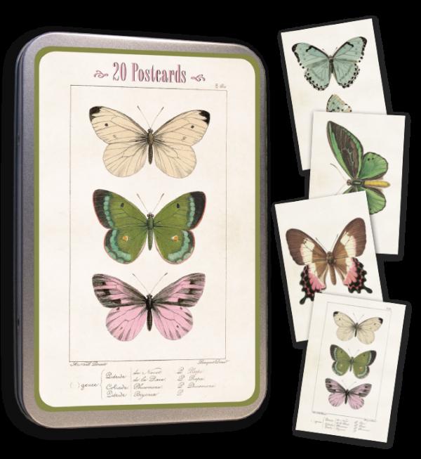 Peltirasia postikortit perhoset