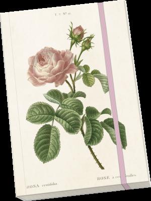 sköna ting muistikirja ruusu