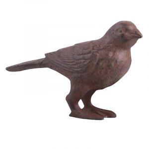 pieni valurautainen lintupatsas