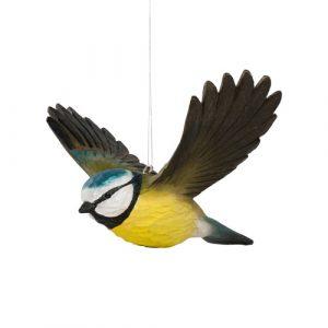 Lentävä sinitiainen koriste