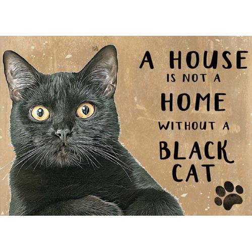 musta kissa peltikyltti