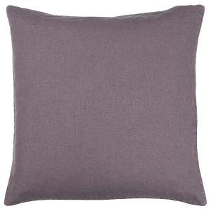 violetti pellavatyynynpäällinen