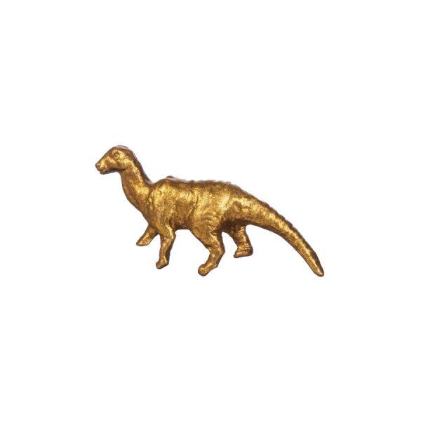 kultainen dinosaurus nuppi