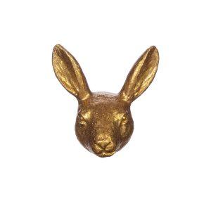 kultainen jäniksen pää vedin