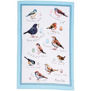 keittiöpyyhe kotipihan linnut